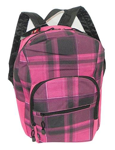 AKA Sport Pink Plaid Backpack