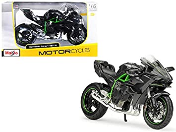 Amazon.com: StarSun Depot New Kawasaki Ninja H2 R Black and ...