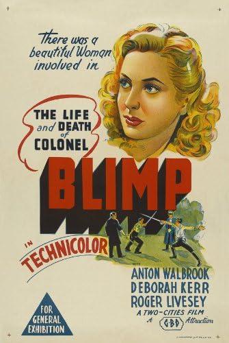Amazon.com: The Life and Death of Colonel Blimp Movie Poster (27 x 40  Inches - 69cm x 102cm) (1943) Australian -(Roger Livesey)(Deborah  Kerr)(Anton Walbrook)(Ursula Jeans)(Albert Lieven): Prints: Posters & Prints