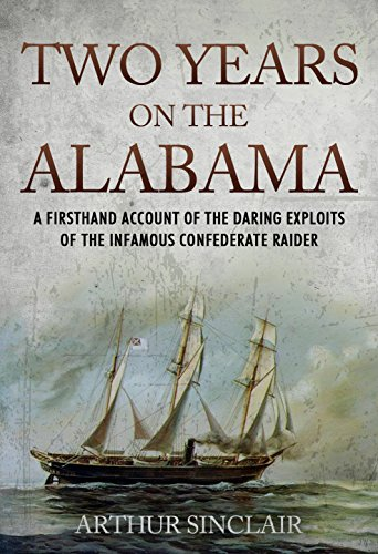 Two Years on the Alabama by [Sinclair, Arthur]