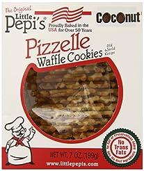 Little Pepi's Pizzelles, Coconut, 7 Ounc...