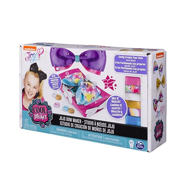 Cool Maker - JoJo Siwa Bow Maker with Rainbow and Unicorn Patterns, for Ages 6 and Up 8