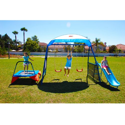IRONKIDS Premier 100 Fitness Playground Blue