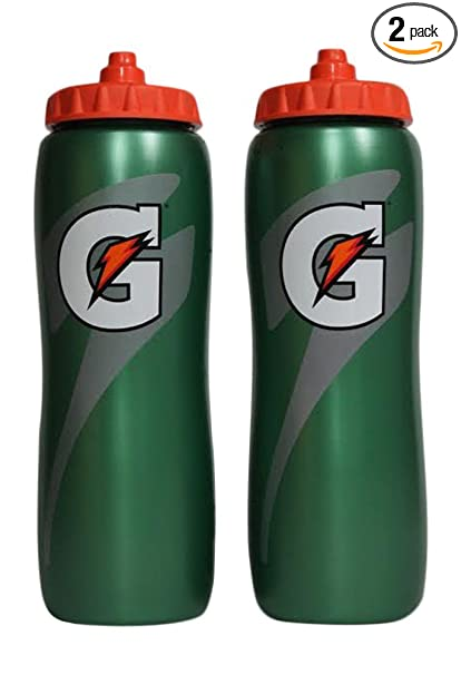 4f9d79553fc7 Amazon.com  Gatorade Squeeze Water Sports Bottle 32oz Pack of 2  Sports    Outdoors