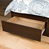 Espresso Full Mate's Platform Storage Bed with