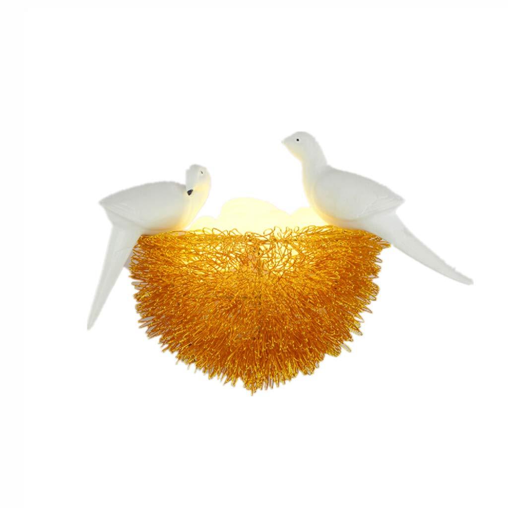 Unbekannt $Wall lamp Light Wandleuchte Creative Bird Nest Wohnzimmer Schlafzimmer Kinderzimmer Gang Wandleuchte Wanddekoration Lichter
