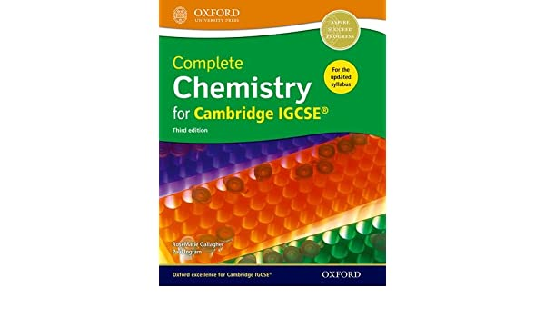 Complete chemistry for cambridge igcse student book rosemarie complete chemistry for cambridge igcse student book rosemarie gallagher paul ingram 8601410679361 amazon books fandeluxe Gallery