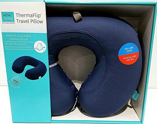 Airia Living ThermaFlip Travel Pillow - Encore Blue