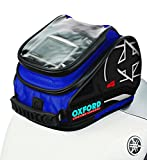Oxford OL177 X4 Blue Magnetic Tank 'N' Trailer Motorcycle Bag