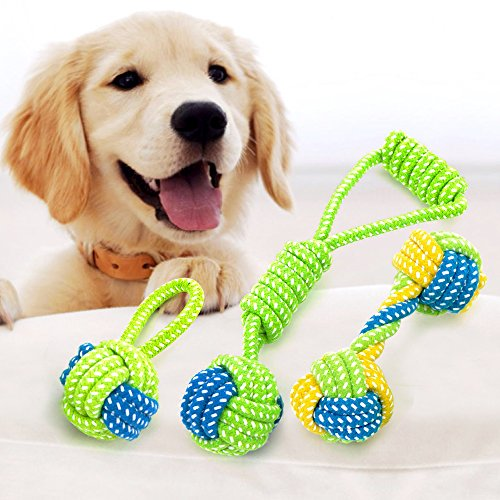 Durable Modeling Vizpet Rope Chew Toys Puppy Chew Teething Rope Toy