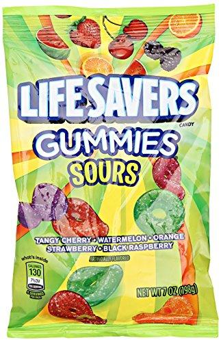 Lifesavers Sour Gummies Assorted Flavors, 7 oz
