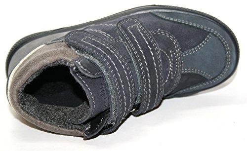 Superfit - Zapatillas de Piel para niño Azul azul Azul - Blau (water multi 89)