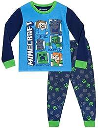 Minecraft Boys' Pajamas Steve and Creeper