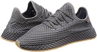 colección de descuento tienda de liquidación productos de calidad Adidas Originals Deerupt Runner Sneakers For Men, White & Grey, 43 ...