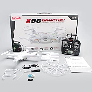 Syma X5C Explorers 2.4G 4CH 6-Axis Gyro RC Quadcopter With HD Camera by na