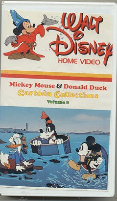 Mickey Mouse and Donald Duck Cartoon Collections Volume 3 (Donald Duck And Chip And Dale Videos)