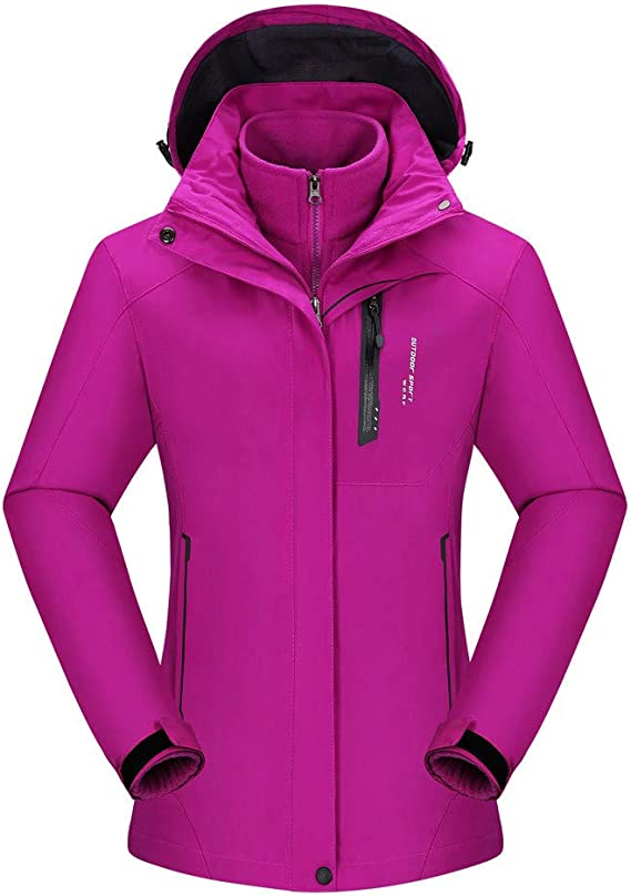 3 in 1 jacke damen amazon