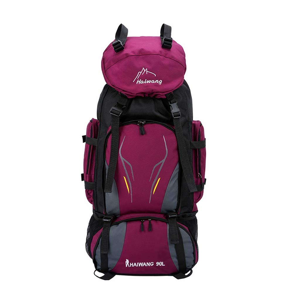NAN® Outdoor Mountaineering Bag Große Kapazität 90L Wandhalterung Wasserdicht und Atmungsaktiv Wandertasche Campingtasche B07NSRXW4W Wanderruckscke Jeder beschriebene Artikel ist verfügbar