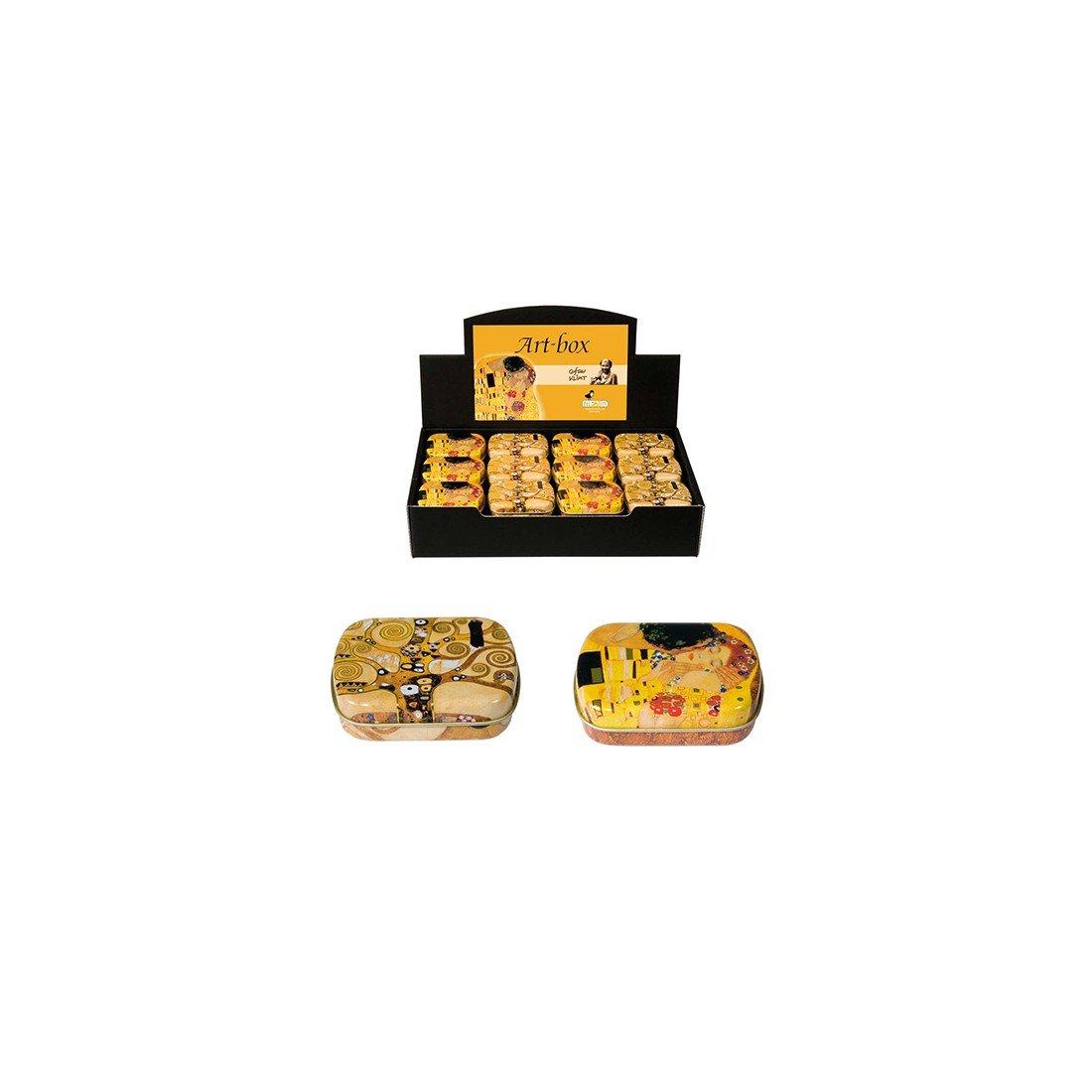 Fridolin 18612Gustav Klimt–Árbol de la vida Mini caja de metal