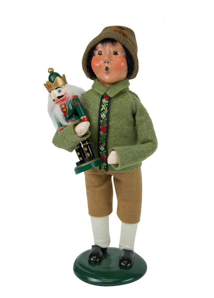 Byers' Choice Nutcracker Boy Caroler Figurine #4844D from the Christmas Market Collection (NEW 2018)
