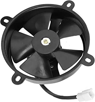 Duokon 6 Inch Radiador Thermo Ventilador de enfriamiento eléctrico ...