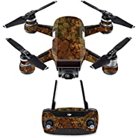 Skin for DJI Spark Mini Drone Combo - River Stones| MightySkins Protective, Durable, and Unique Vinyl Decal wrap cover | Easy To Apply, Remove, and Change Styles | Made in the USA