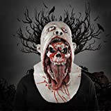 TOOGOO Bloody Zombie Mask Melting Face Adult Latex Costume Waing Dead Halloween Scary Prop