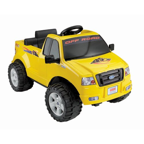 Fisher Price Wheels 6 Volt Battery Powered Yellow