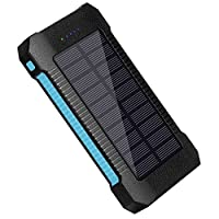 10000mAh Dual USB Ports Solar Charger So...