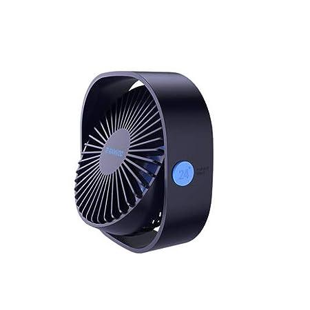 Aishanghuayi Ventilador de Mesa, Ventilador Personal de Mesa, USB ...