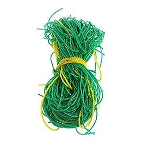 Tannhu - Malla de enrejado para jardín, nailon, verde, soporte para escalada, verduras de crecer, 91,44 x 182,88 cm, para jardín, jardín, jardín botánico