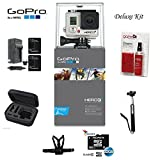 Gopro Hero3+ Silver Edition Camera -Chdhn-302-kit- Starter Kit Includes, 32gb Micro Sd, Cleaning Kit, Battery, Battery Charger, Chest Mount, Carry Case and Monpod