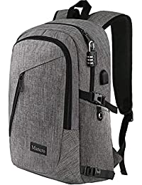 d73fad3e8f7 Laptop Backpack, Business Anti Theft Travel Computer Bag for Women and Men,  Slim Water