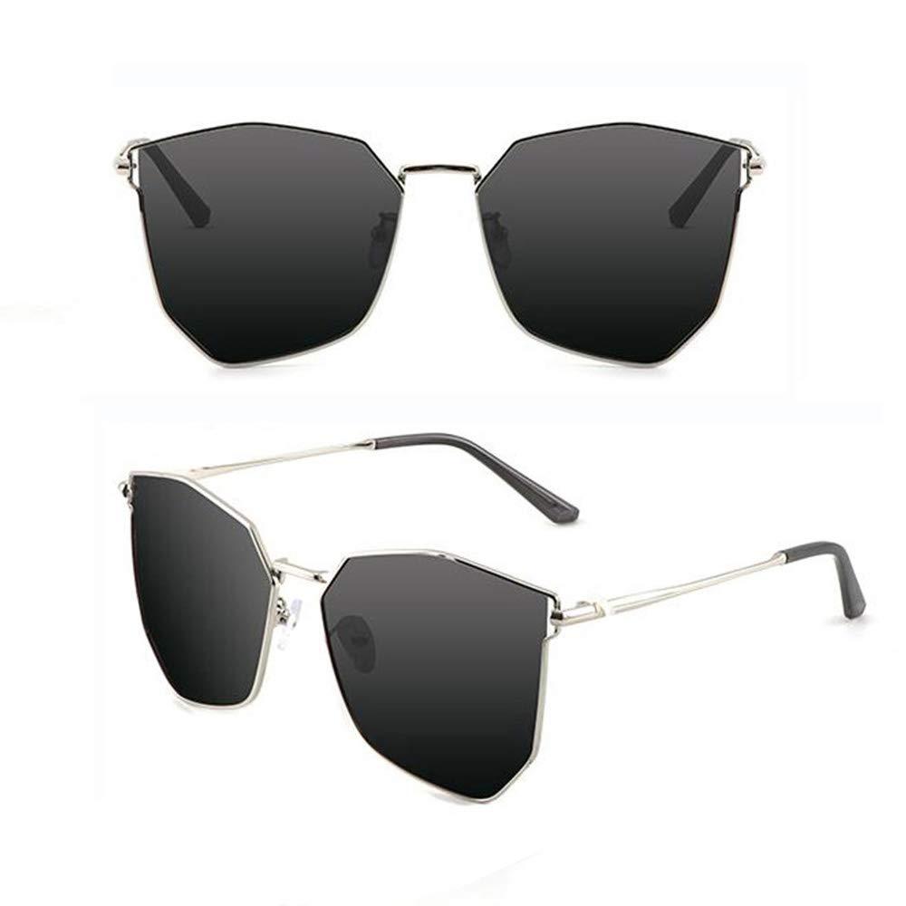 G Women's Sunglasses Oversized Polygon Frame Polarized AntiUV Fashion Trend B