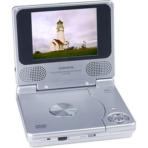 Audiovox D1500B 5-Inch Portable DVD Player
