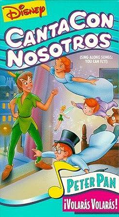 Amazon Com Cantacon Nosotros Disney Sing Along Songs You Can Fly