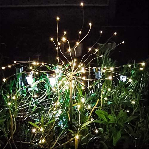 INorton 105LED String Light Christmas Solar Sensor Lamp,IP65 Waterproof Outdoor Garden Decoration Fireworks Light for Party Bedroom New ()