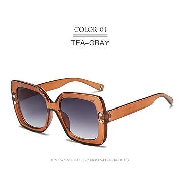 kuxi B Gafas cuadradas Gafas de Sol de Lujo para Mujer Gafas ...