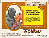 "Abominable Dr. Phibes - Authentic Original 28"" x 22"" Movie Poster"