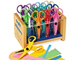 Lakeshore Crinkle-Cut Craft Scissors Center