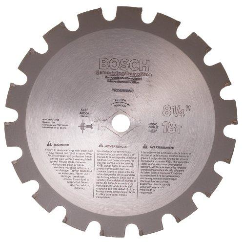 Bosch PRO82518NC 8-1/4 In. 18 Tooth Nail Cutting/Remodeling Circular Saw Blade (Saw Nail Blade Circular)