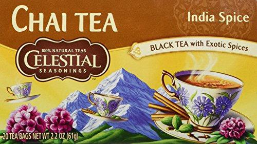 Celestial Seasonings India Spice Chai Tea Bags - 20 ct