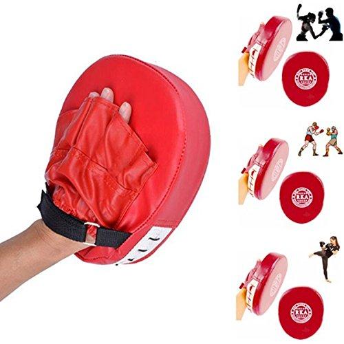 CAMTOA Handpratzen Pratze Boxen Kickboxen Trainingshandschuh MMA Punch Mitt Focus-Pads für Karate Muay Thai Kick