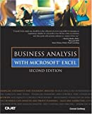 Business Analysis with Microsoft Excel, Conrad Carlberg, 0789725525