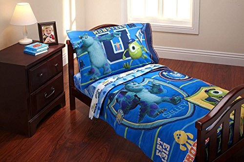 (Disney 4 Piece Toddler Set, Monsters University)
