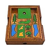 BRAIN GAMES Golf Field Wooden Puzzle
