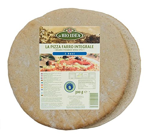 BASE PIZZA ESPELTA 2x150 GR BIO