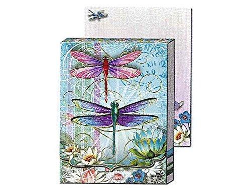 Punch Studio Die-Cut Window Pocket Note Pads-Dragonflies 59660