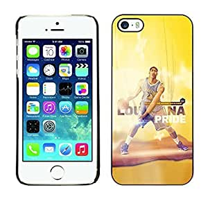 BasketCase Anthony Davis The Show Basketball For SamSung Galaxy S4 Phone Case Cover / Slim 360 Protection PC / Aluminium Protector Shell Rugged Kimberly Kurzendoerfer
