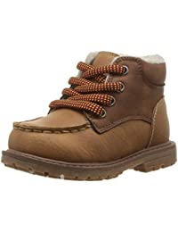 Kids Crowes Boy's Lace Up Sherpa Boot Fashion